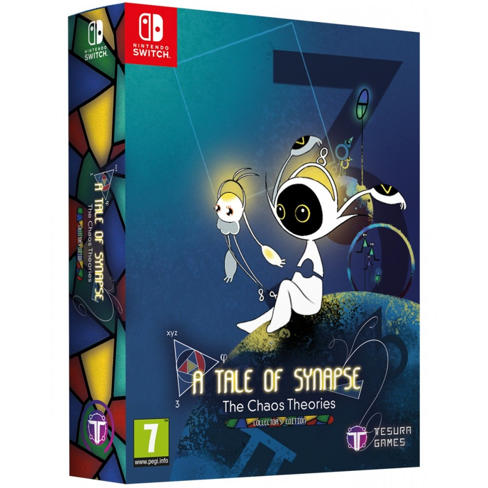 A TALE OF SYNAPSE: THE CHAOS THEORIES COLLECTOR S EDITION SWITCH EURO NEW