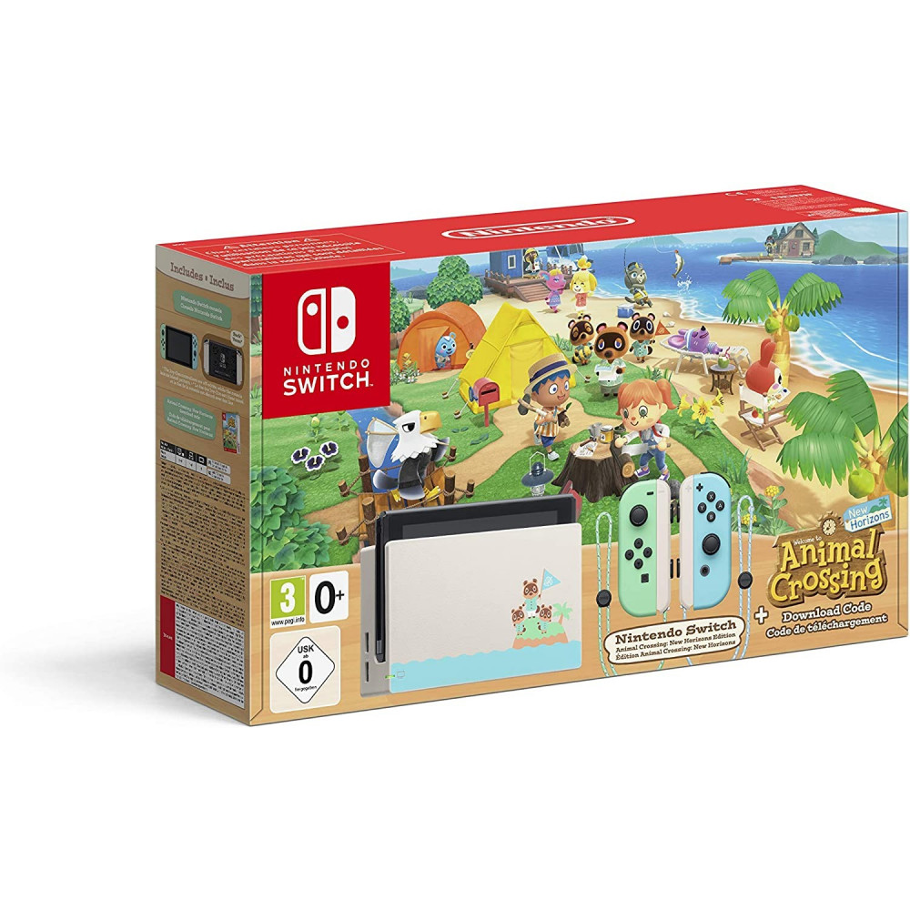 CONSOLE SWITCH ANIMAL CROSSING EURO FR OCCASION