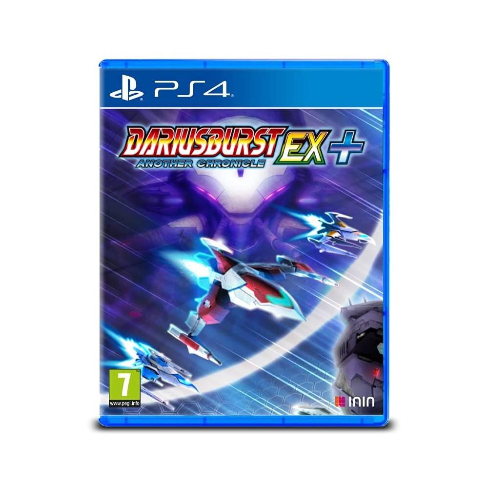 DARIUSBURST ANOTHER CHRONICLE EX + PS4 EURO NEW