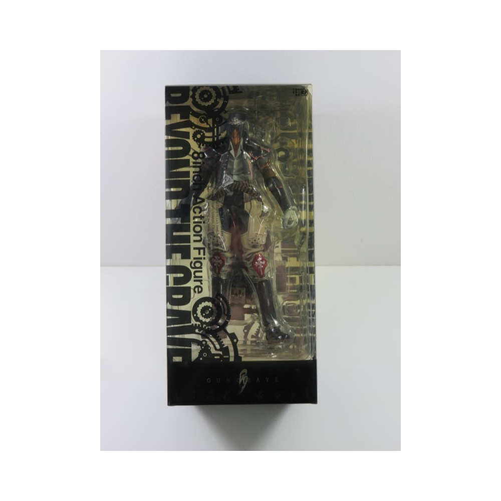 GUNGRAVE BEYOND THE GRAVE ACTION FIGURE KAIYODO 8 INCH 2002 JPN (COMPLET - GOOD CONDITION)