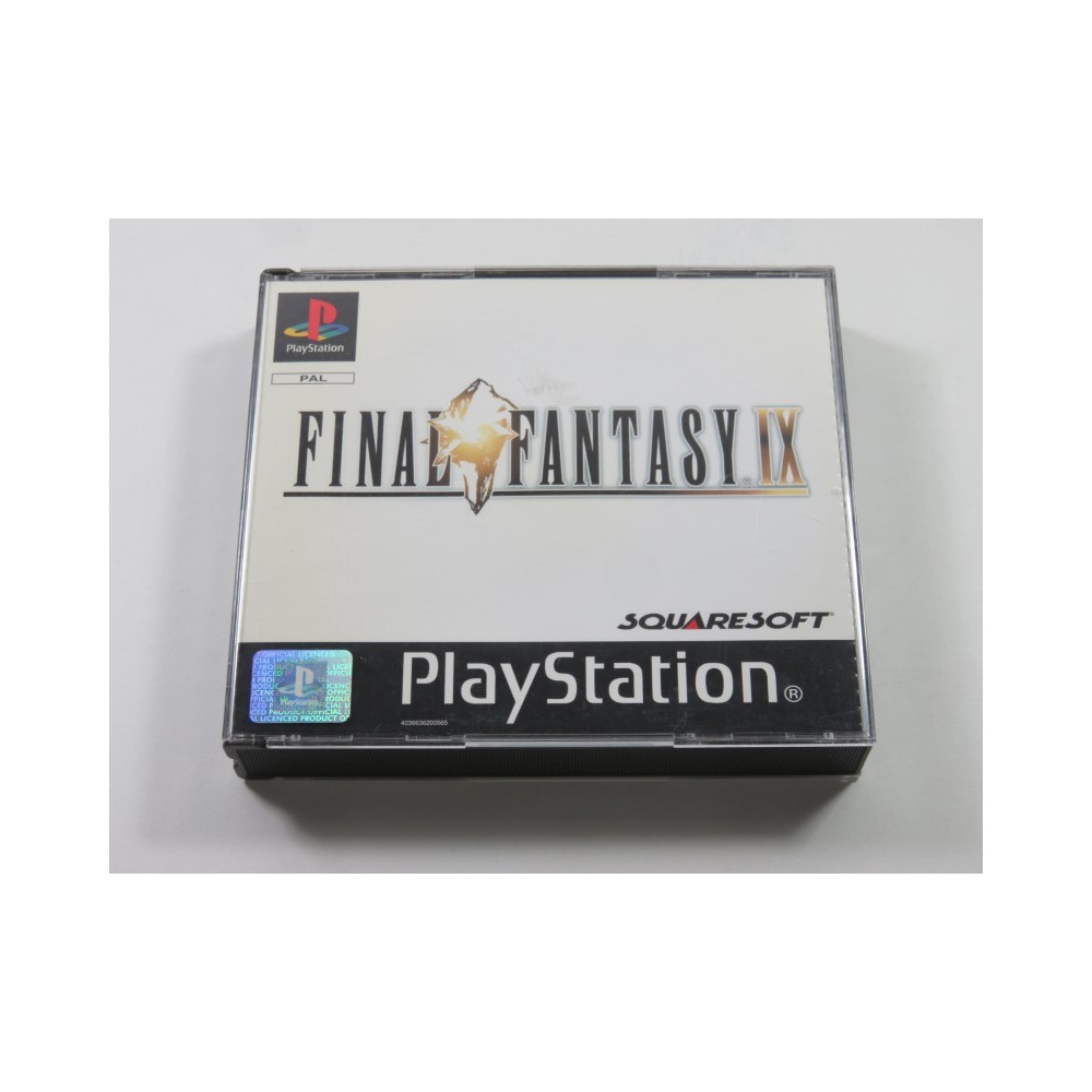 FINAL FANTASY IX PLAYSTATION 1 (PS1) PAL-FR (WITHOUT MANUAL - GOOD CONDITION)