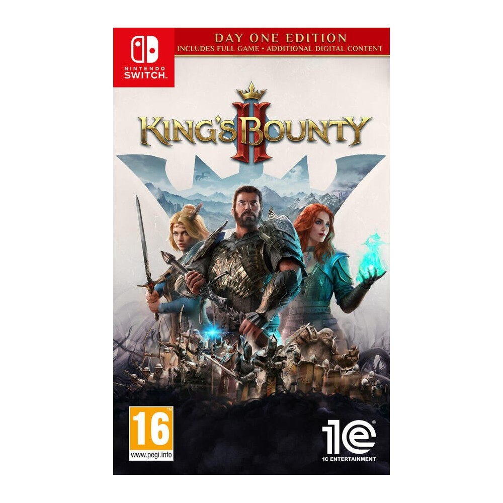 King's Bounty II Day One Edition SWITCH PS4 EURO - Preorder