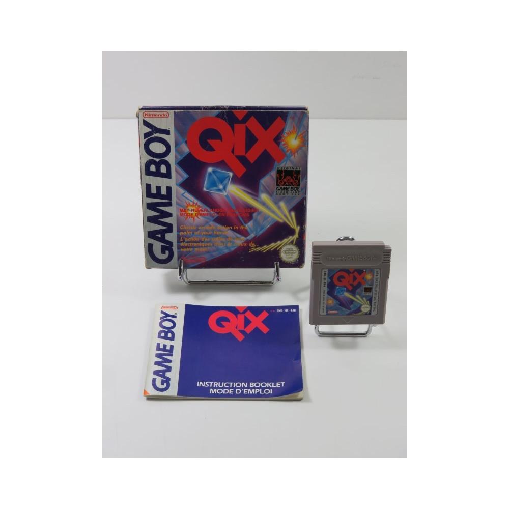 QIX NINTENDO GAMEBOY (GB) FAH (COMPLET - GOOD CONDITION)