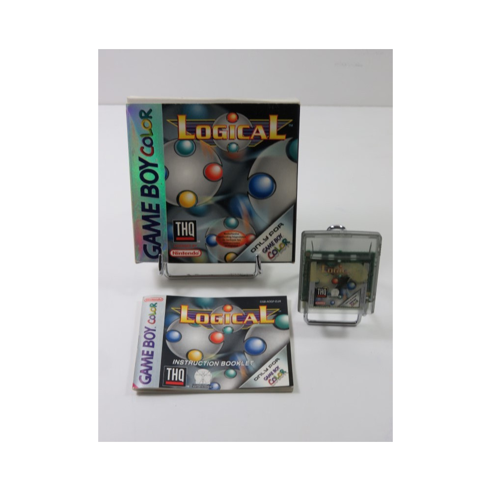 LOGICAL GAMEBOY COLOR (GBC) EUR (COMPLET - GOOD CONDITION OVERALL)