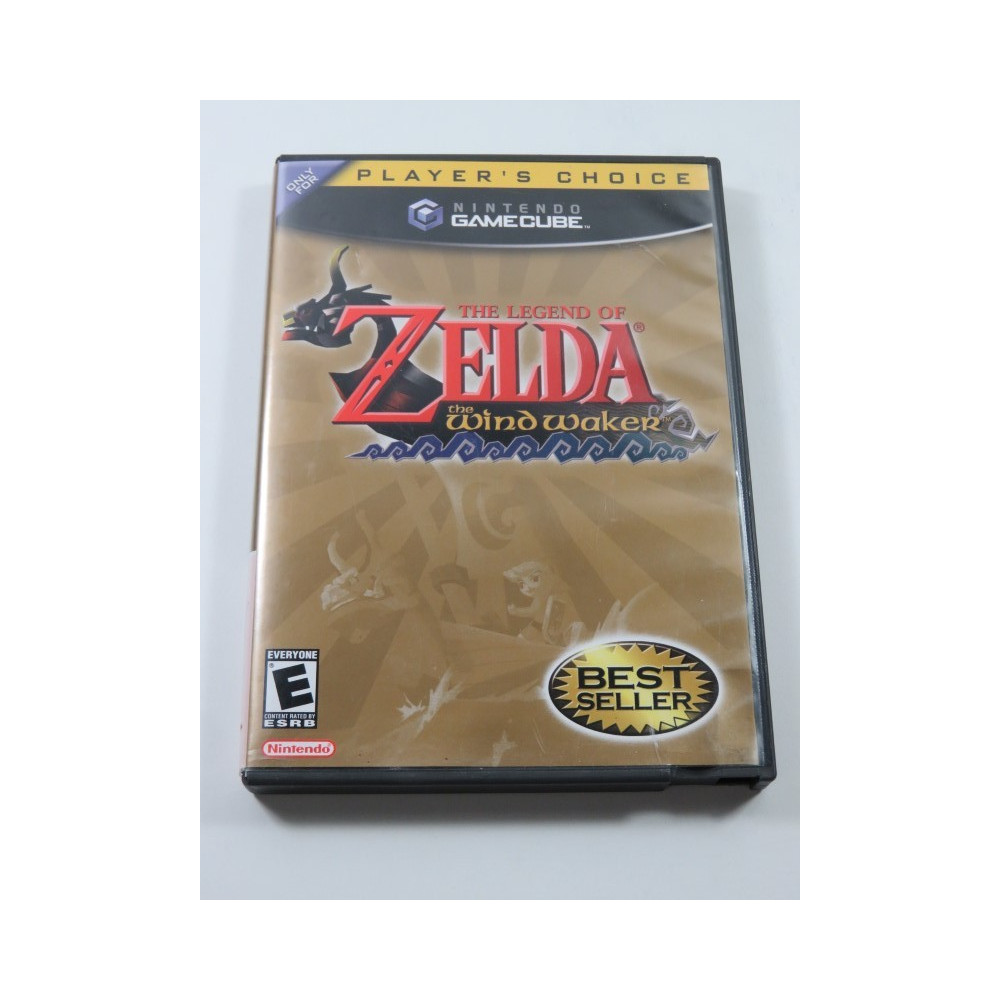THE LEGEND OF ZELDA:THE WINDWAKER BEST SELLER PLAYER S CHOICE NINTENDO GAMECUBE (GC) NTSC-USA (COMPLET - GOOD CONDITION)
