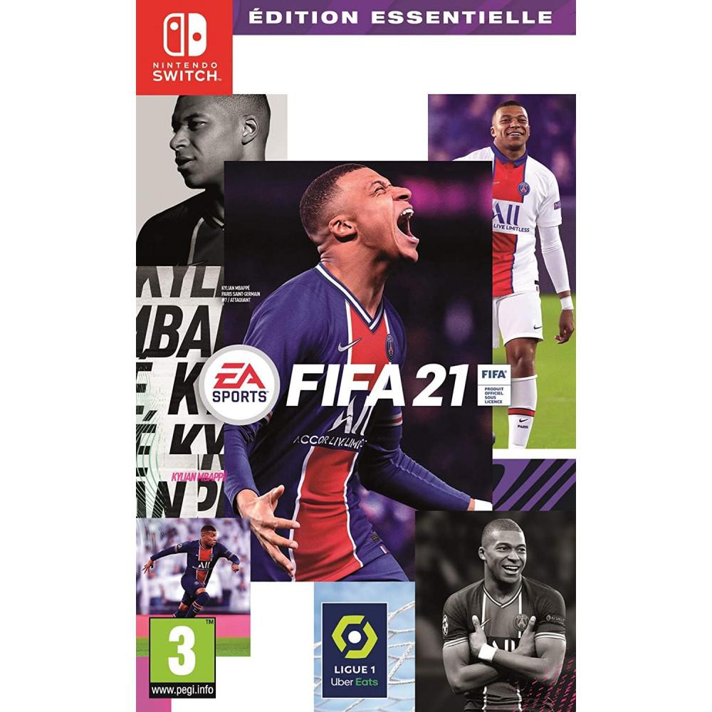 FIFA 21 EDITION ESSENTIELLE SWITCH FR OCCASION