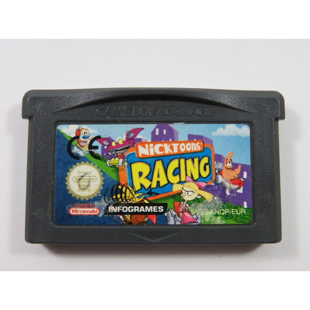 NICKTOONS RACING GAMEBOY ADVANCE (GBA) EUR (CARTRIDGE ONLY)