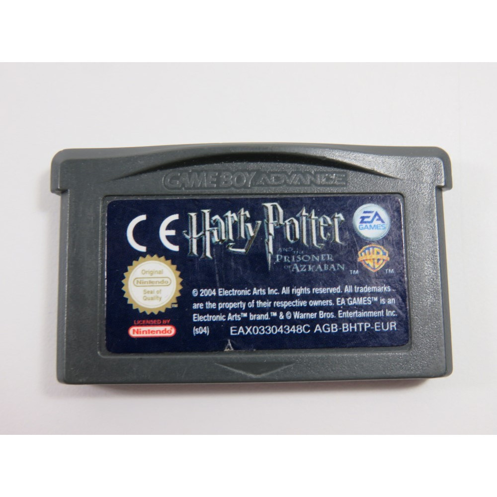 HARRY POTTER AND THE PRISONER OF AZKABAN GAMEBOY ADVANCE (GBA) EUR (CARTRIDGE ONLY)