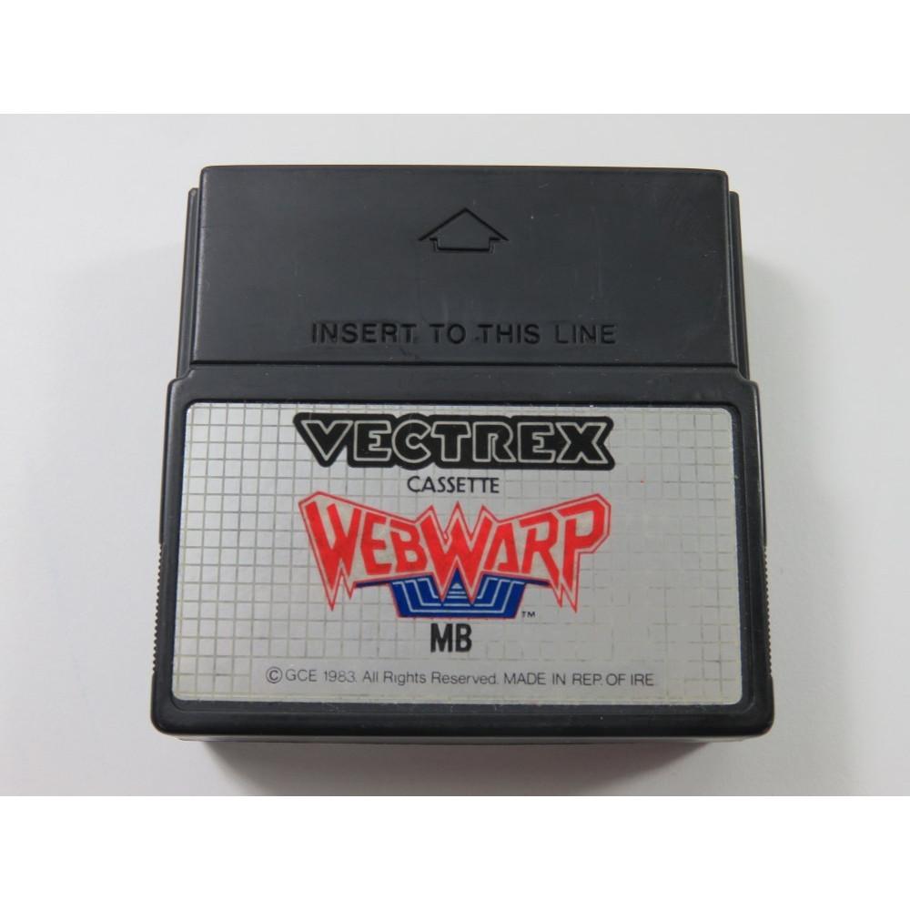 WEBWARP VECTREX (CARTRIDGE ONLY) - (WITHOUT MANUAL - BOX - OVERLAY)
