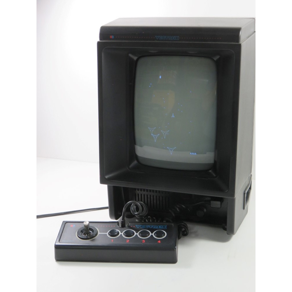 CONSOLE VECTREX MB EURO (SANS BOITE NI NOTICE - WITHOUT BOX AND MANUAL) - (GOOD CONDITION OVERALL)