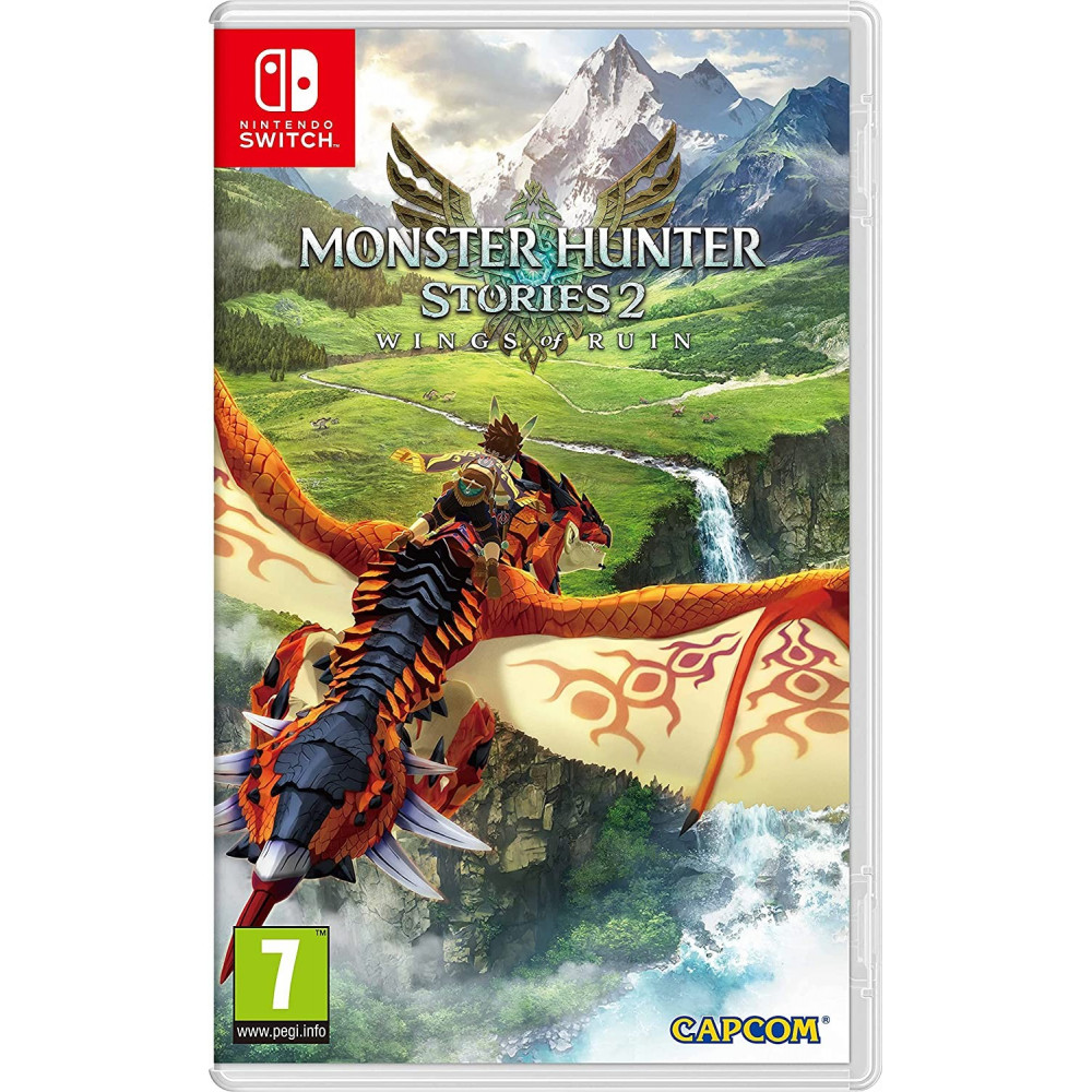 MONSTER HUNTER STORIES 2 SWITCH FR OCCASION