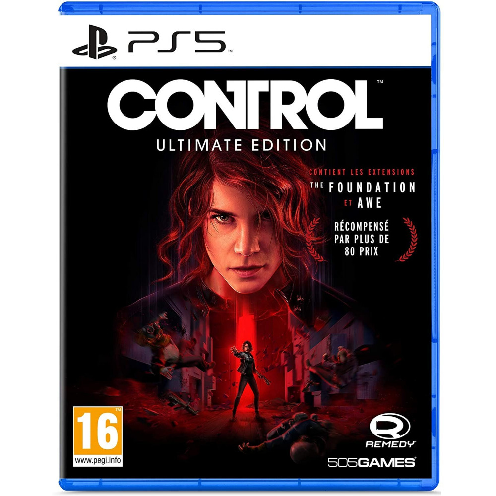 CONTROL ULTIMATE EDITION PS5 FR OCCASION