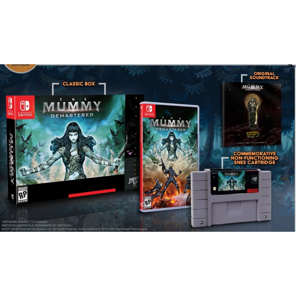THE MUMMY DEMASTERED COLLECTOR EDITION (LIMITED RUN 086) SWITCH USA NEW