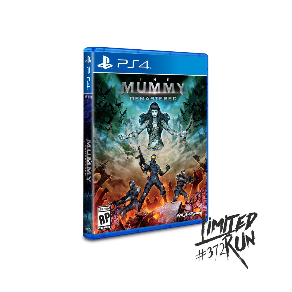 THE MUMMY DEMASTERED (LIMITED RUN 372) PS4 USA NEW