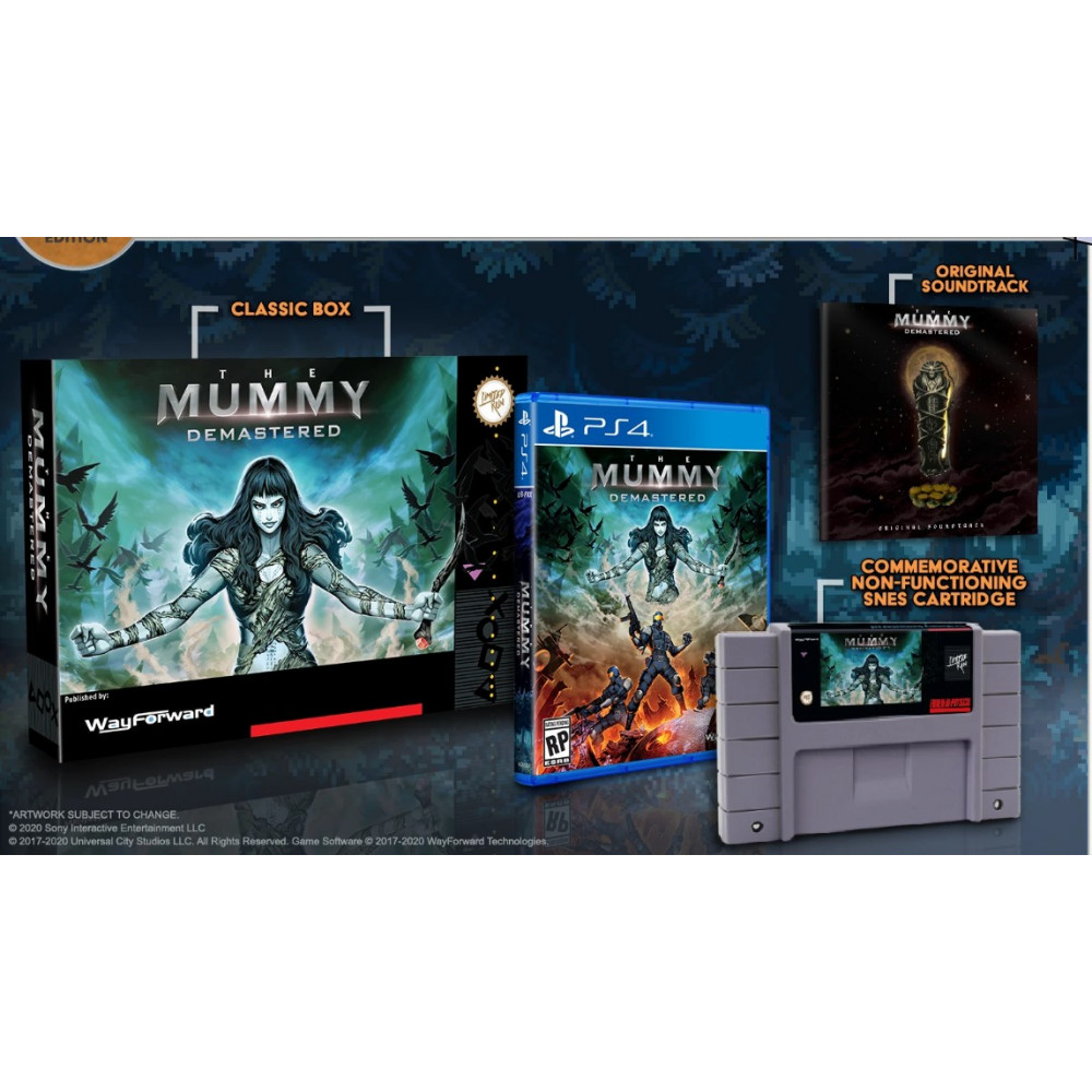THE MUMMY DEMASTERED COLLECTOR EDITION (LIMITED RUN 372) PS4 USA NEW
