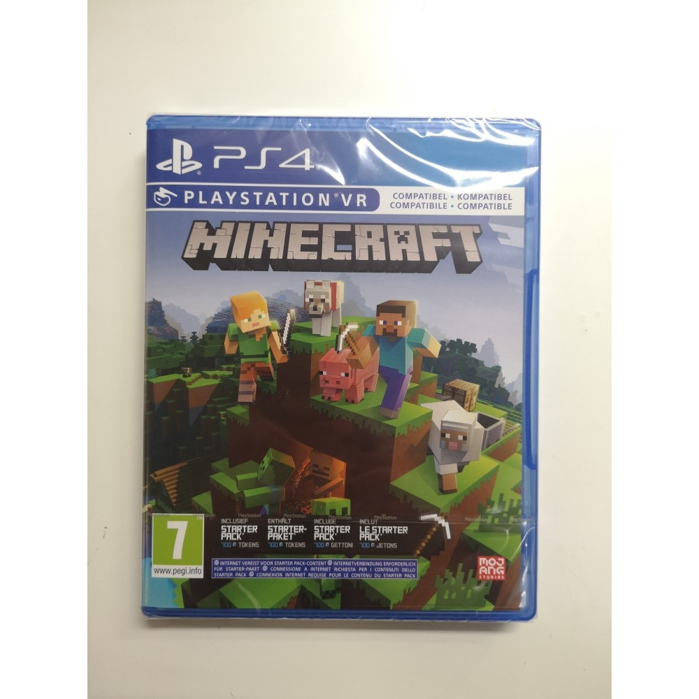 MINECRAFT STARTER COLLECTION PS4 EURO NEW