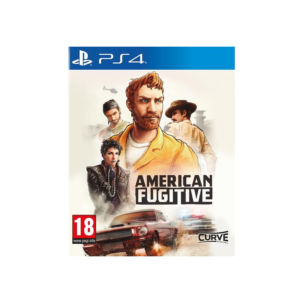 American Fugitive State Of Emergency PS4 EURO - Preorder