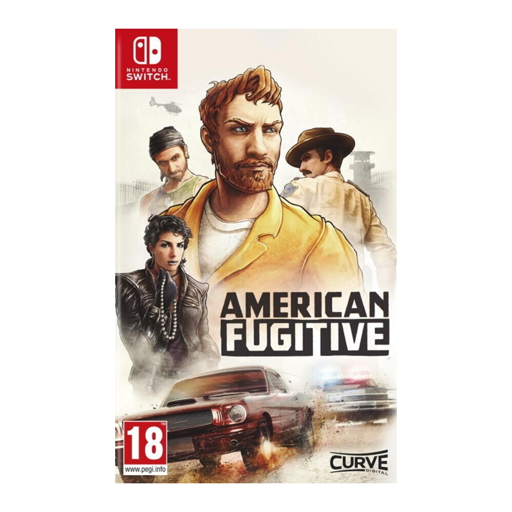 American Fugitive State Of Emergency SWITCH EURO - Preorder