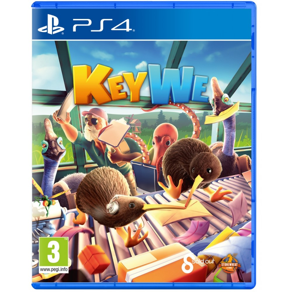 KeyWe PS4 EURO - Précommande