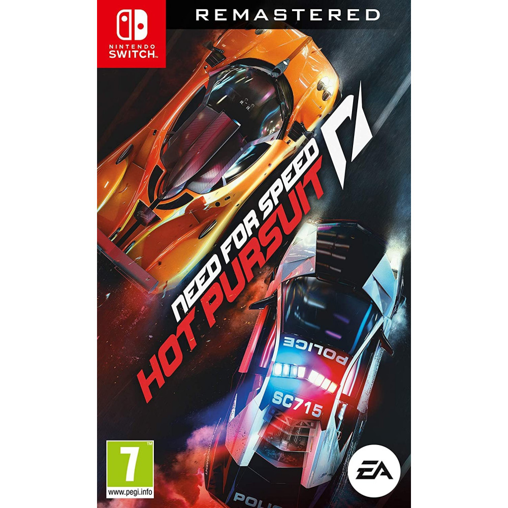 NEED FOR SPEED HOT PURSUIT REMASTERED SWITCH UK OCCASION