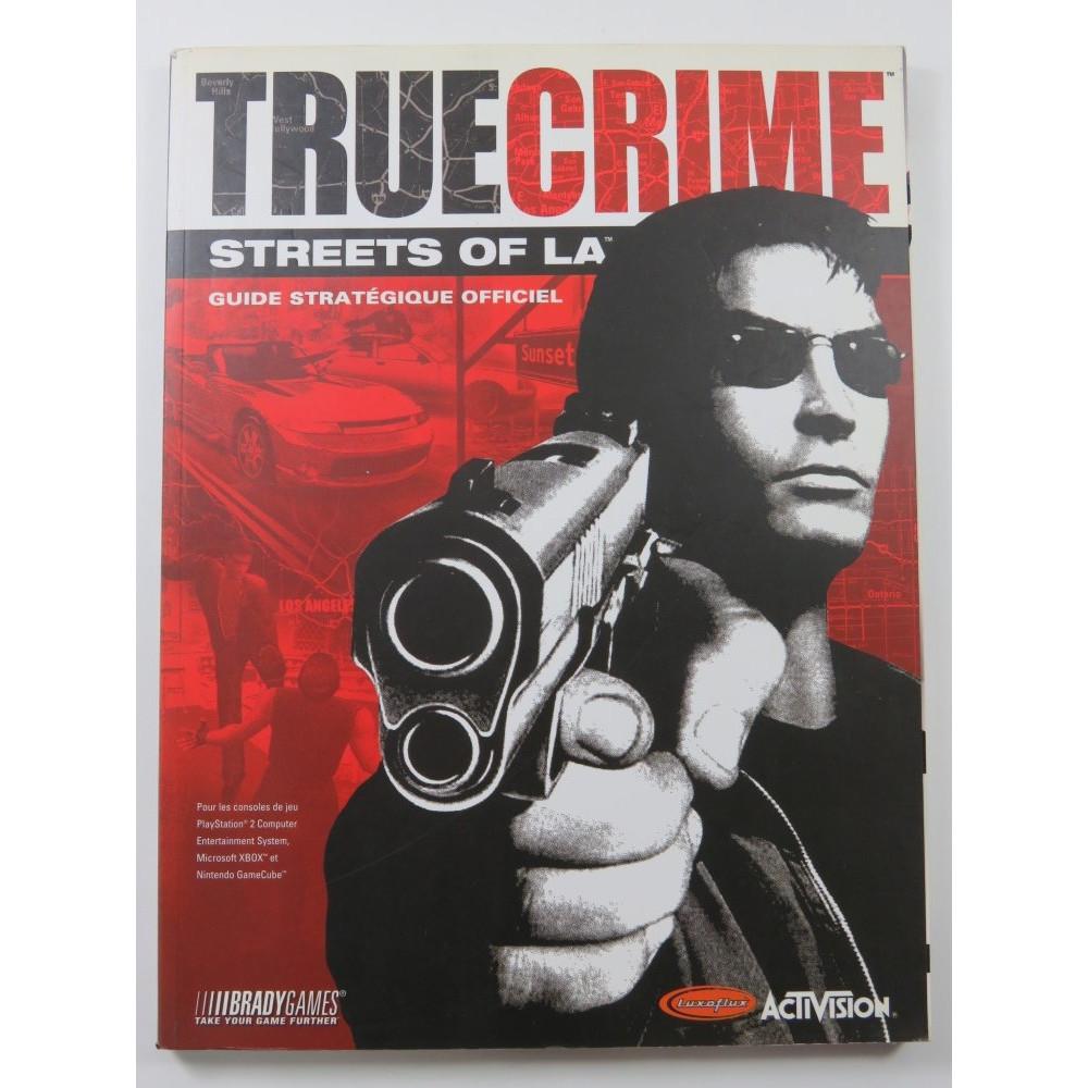 GUIDE TRUE CRIME STREETS OF LA FR OCCASION
