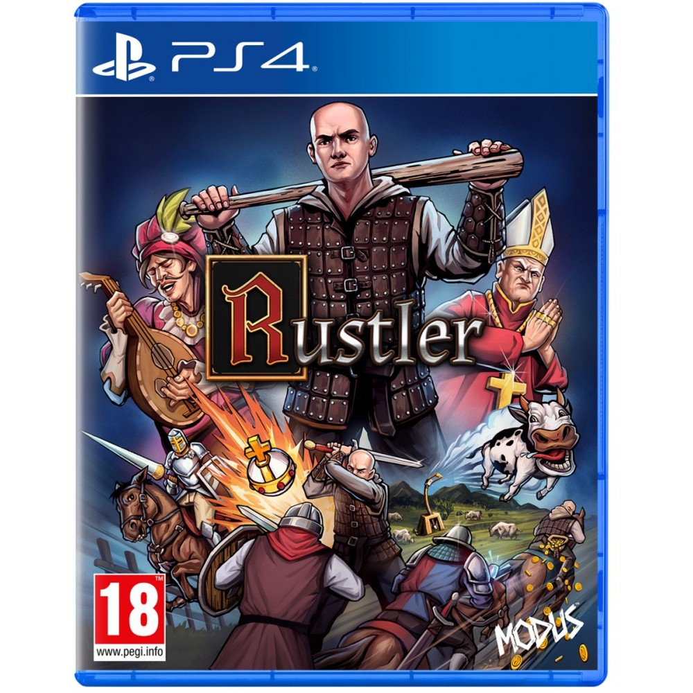 Rustler PS4 EURO - Preorder