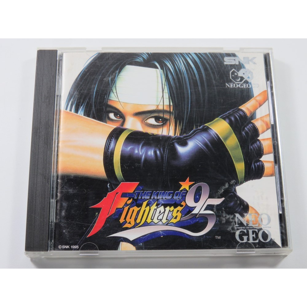 THE KING OF FIGHTERS 95 NEO-GEO CD EURO (COMPLETE - GOOD CONDITION)