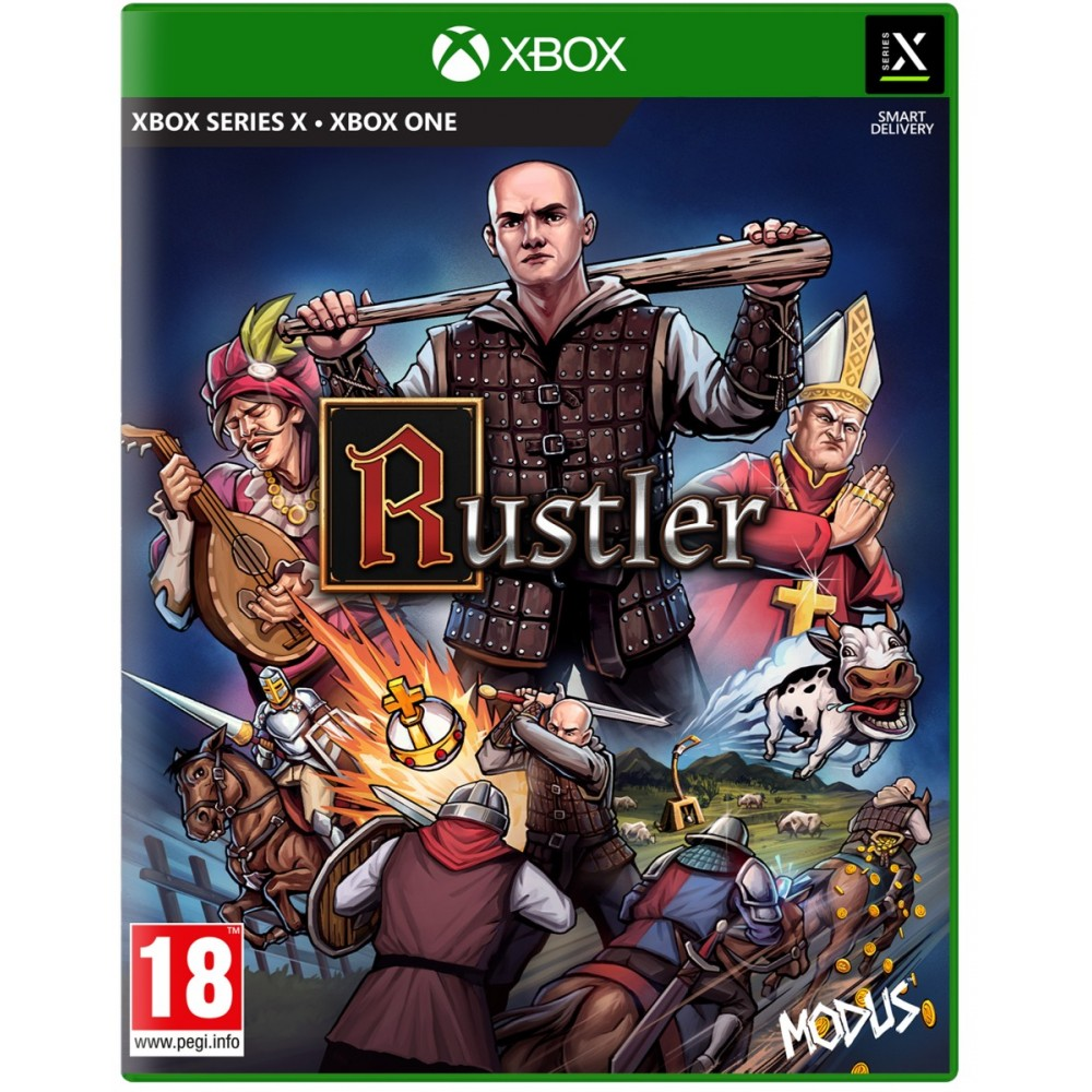 Rustler XBOX SERIE X / XBOX ONE EURO - Précommande
