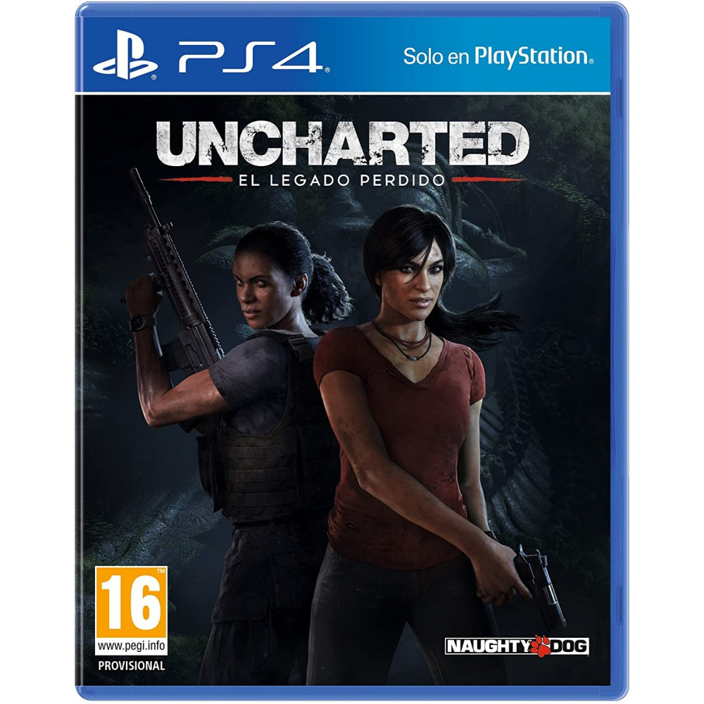 UNCHARTED THE LOST LEGACY PS4 ESP OCCASION (JEU EN ANGLAIS)