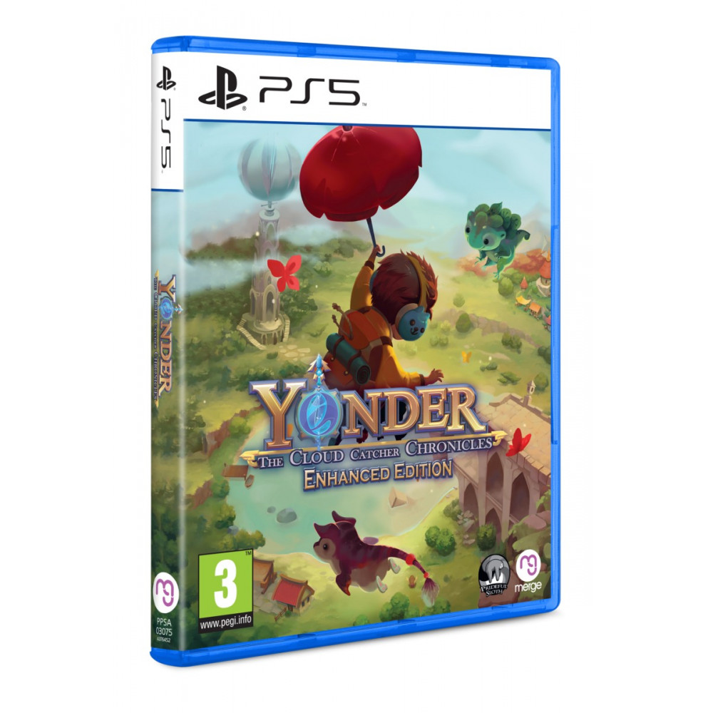 YONDER THE CLOUD CATCHER CHRONICLES ENHANCER EDITION PS5 EURO NEW