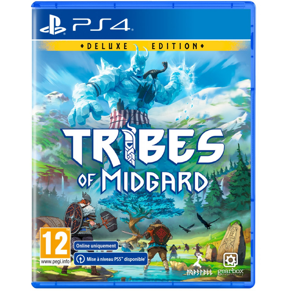 TRIBES OF MIDGARD DELUXE EDITION (ONLINE) PS4 FR NEW
