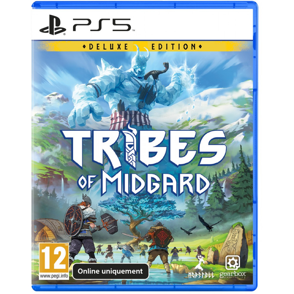 TRIBES OF MIDGARD DELUXE EDITION (ONLINE) PS5 FR NEW