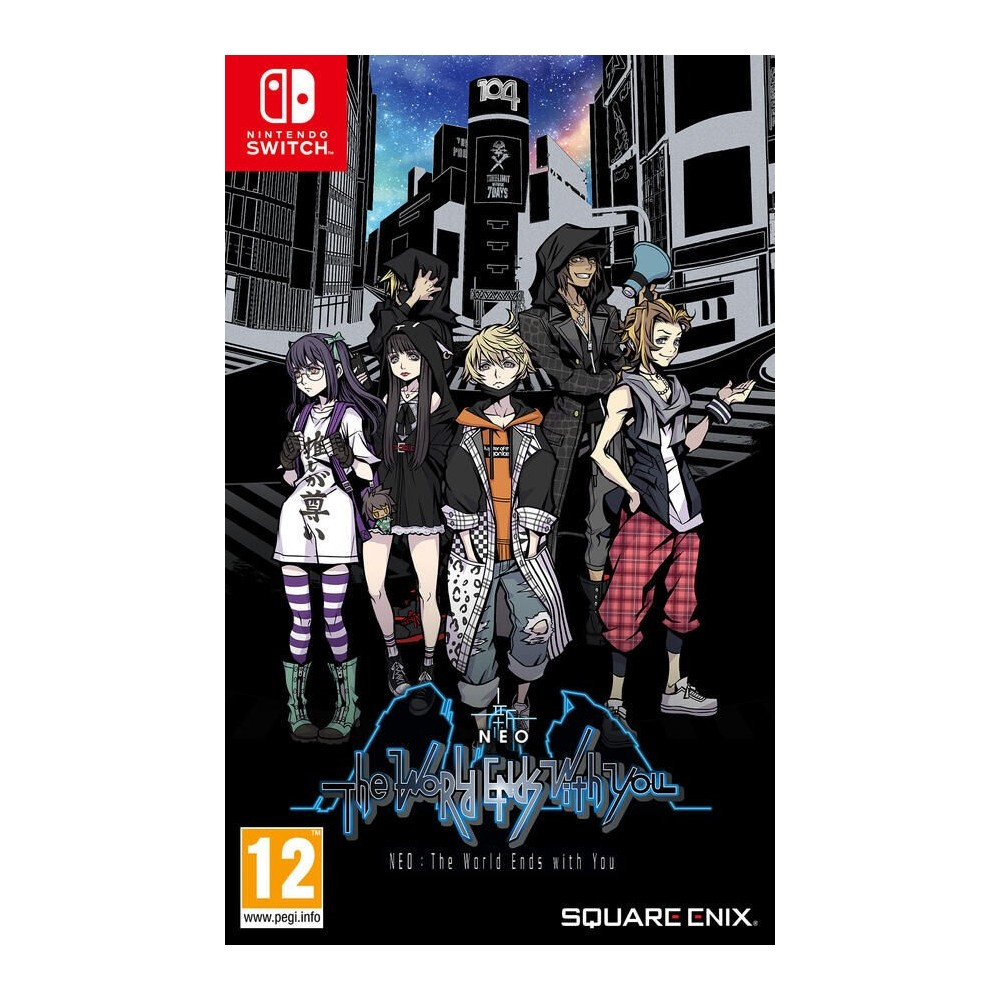 NEO THE WORLD ENDS WITH YOU SWITCH FR NEW