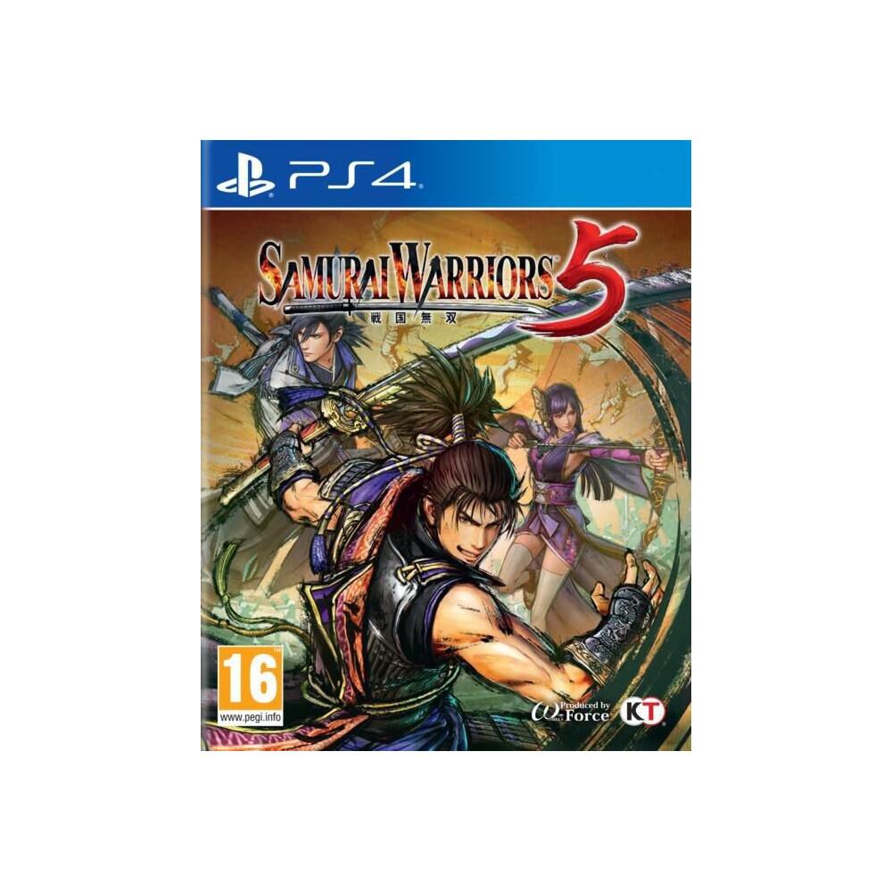 SAMURAI WARRIORS 5 PS4 UK NEW