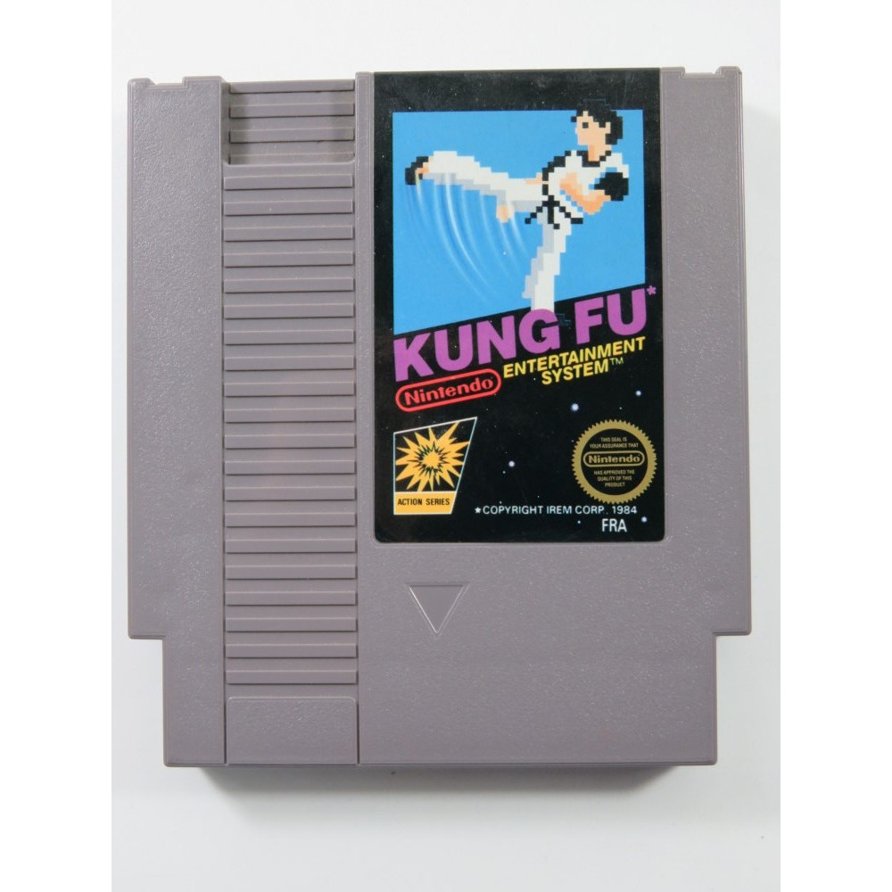 KUNG FU NINTENDO NES PAL-B FRA (CARTRIDGE ONLY - GOOD CONDITION)