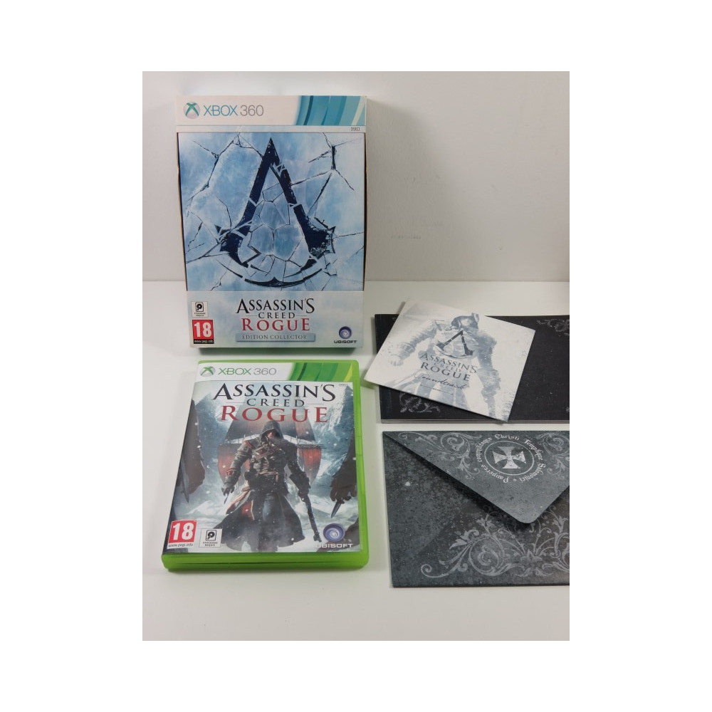 ASSASSIN S CREED ROGUE EDITION COLLECTOR XBOX 360 (X360) PAL-FR (COMPLET)