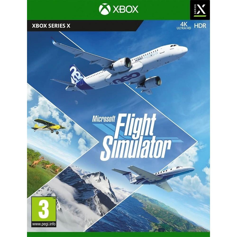 FLIGHT SIMULATOR XBOX SERIES X EURO NEW