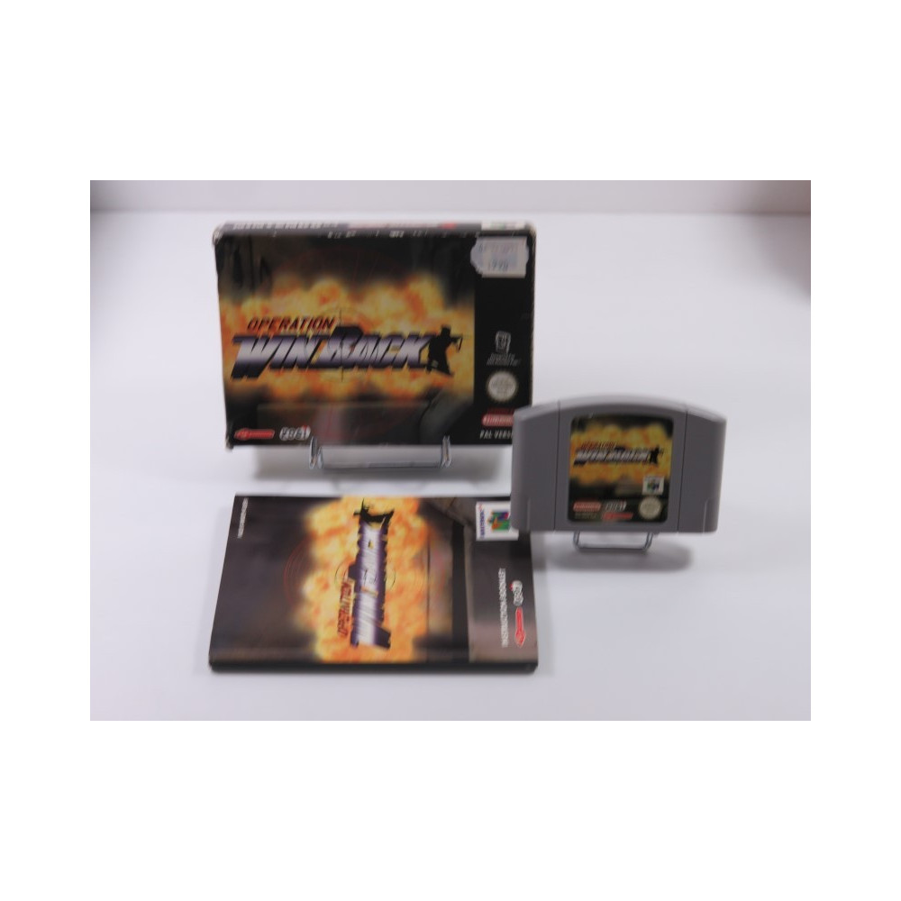 OPERATION WINBACK NINTENDO 64 (N64) PAL-EUR (COMPLET - GOOD CONDITION)