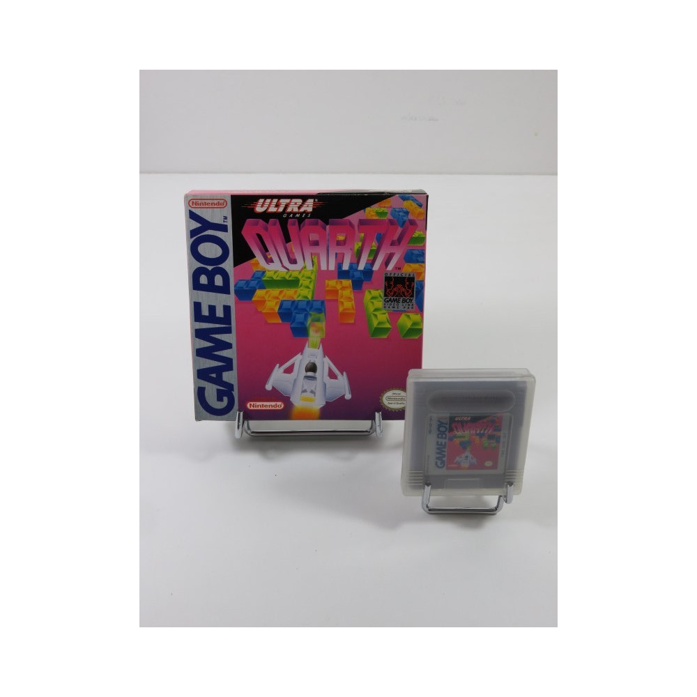 QUARTH NINTENDO GAMEBOY (GB) USA (WITHOUT MANUAL - GOOD CONDITION)