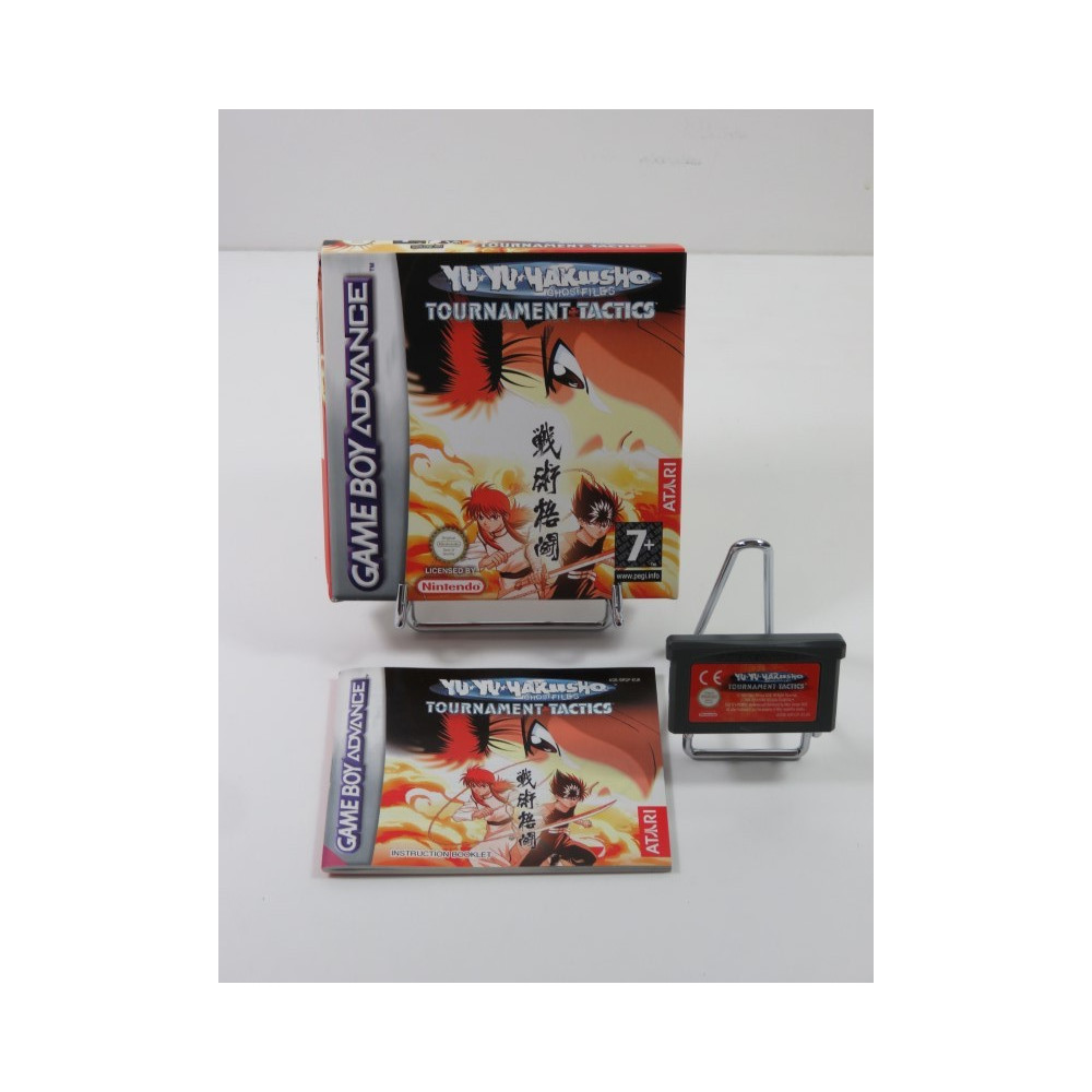 YU YU HAKUSHO GHOST FILES TOURNAMENT TACTICS GAMEBOY ADVANCE (GBA) USA (COMPLET- VERY GOOD CONDITION)