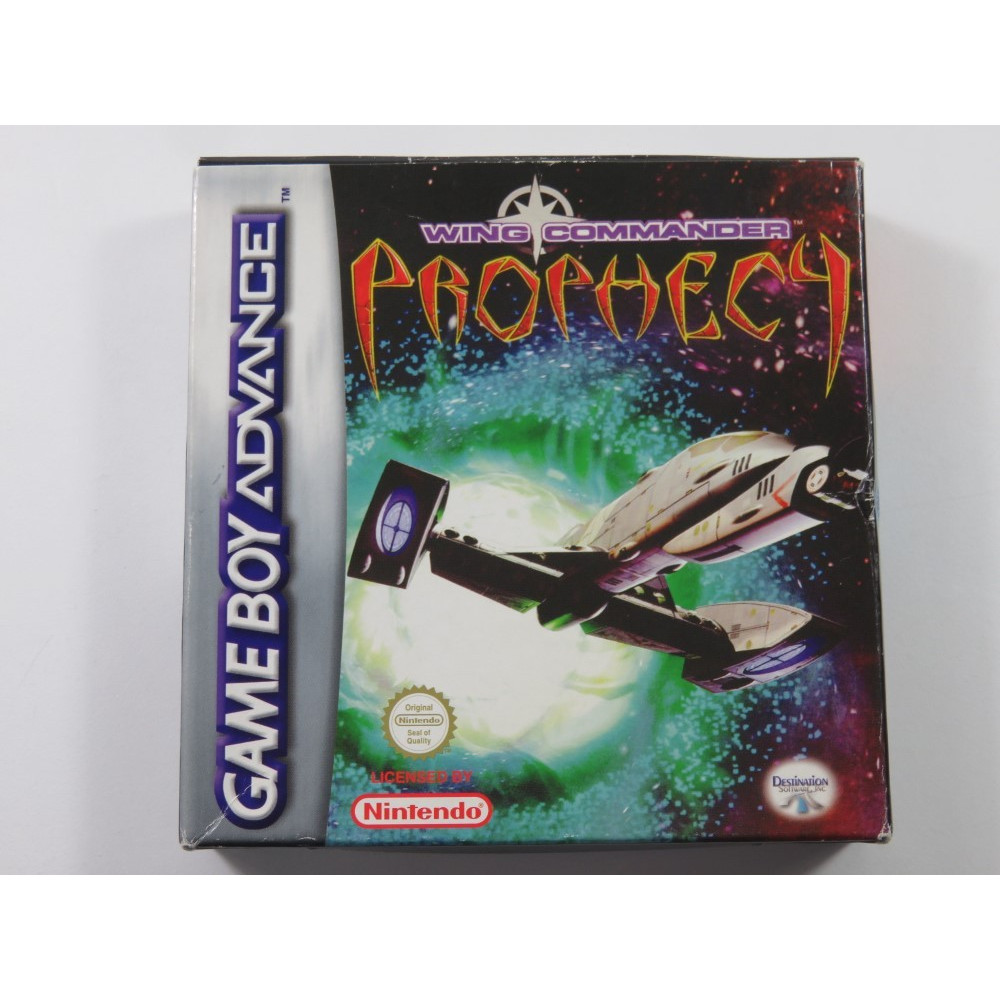 WING COMMANDER PROPHECY GAMEBOY ADVANCE (GBA) FRA (COMPLETE - GOOD CONDITION)