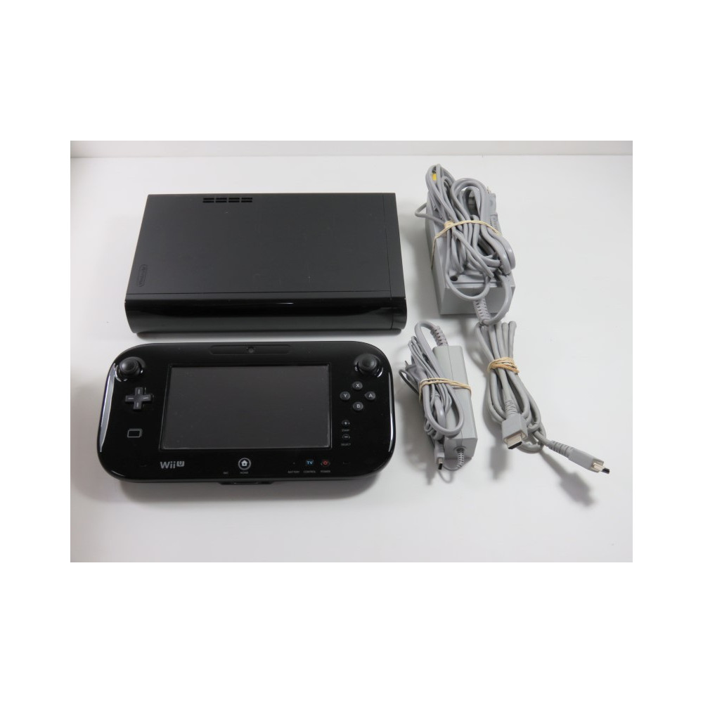 CONSOLE WIIU PREMIUM BLACK 32 GB WUP 101(0) NTSC-JAPAN (SYSTEM ONLY - WITHOUT BOX OR MANUAL - GOOD CONDITION)