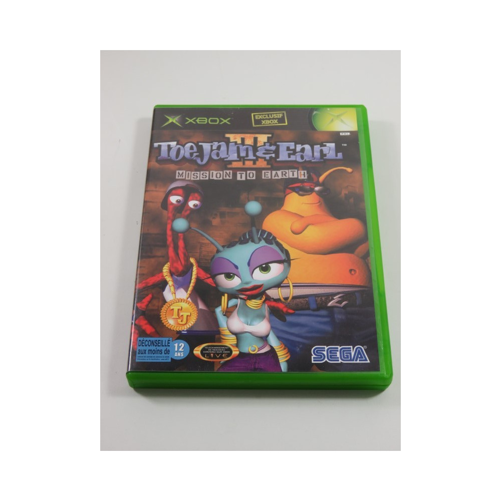 TOE JAM & EARL III MISSION TO EARTH XBOX PAL-FR OCCASION