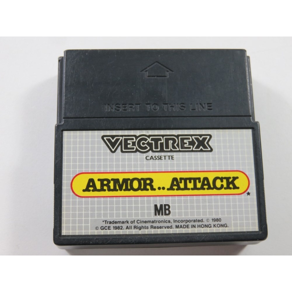 ARMOR..ATTACK VECTREX (CARTRIDGE ONLY) - (WITHOUT MANUAL - BOX - OVERLAY)