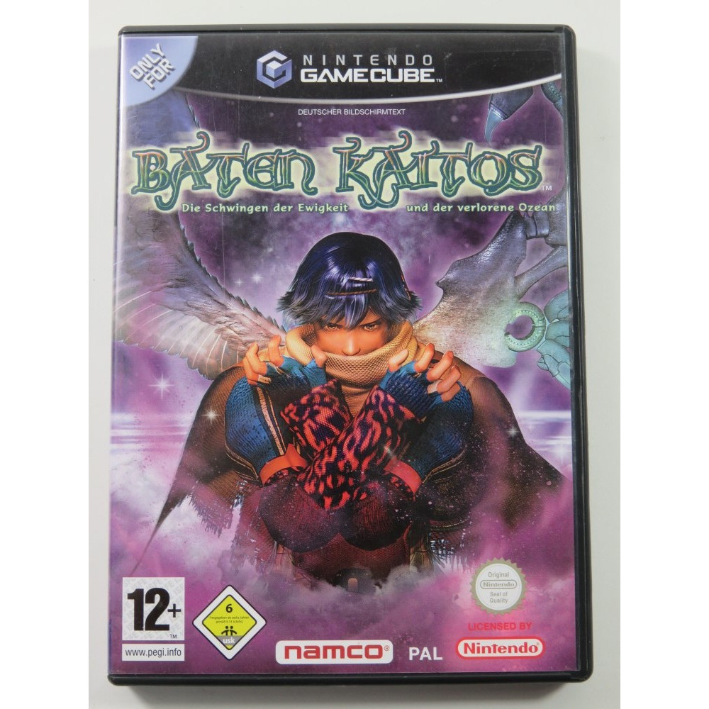 BATEN KAITOS GAMECUBE PAL-NOE (ALLEMAND) - (TEXTE FR - FRENCH TEXT) OCCASION