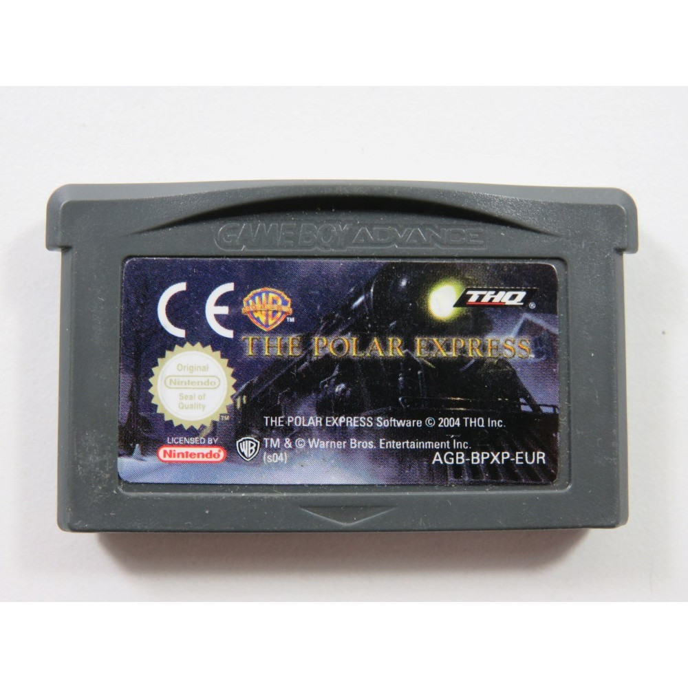 THE POLAR EXPRESS GAMEBOY ADVANCE (GBA) EUR (CARTRIDGE ONLY - GOOD CONDITION)