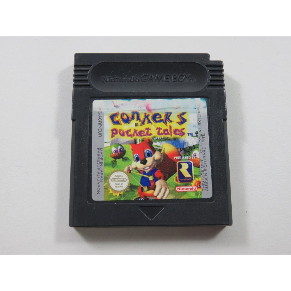 CONKER S POCKET TALES GAMEBOY COLOR (GBC) EUR (CARTRIDGE ONLY)