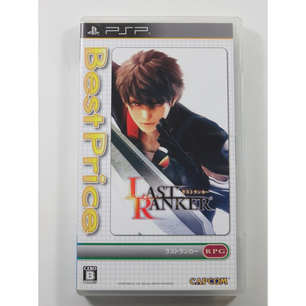 LAST RANKER SONY PSP JAPAN (BEST PRICE VERSION) JAPAN OCCASION