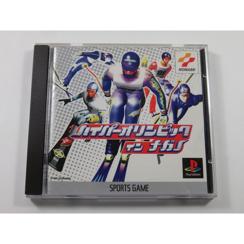 HYPER OLYMPIC IN NAGANO PLAYSTATION (PS1) NTSC-JPN (COMPLETE - GOOD CONDITION)