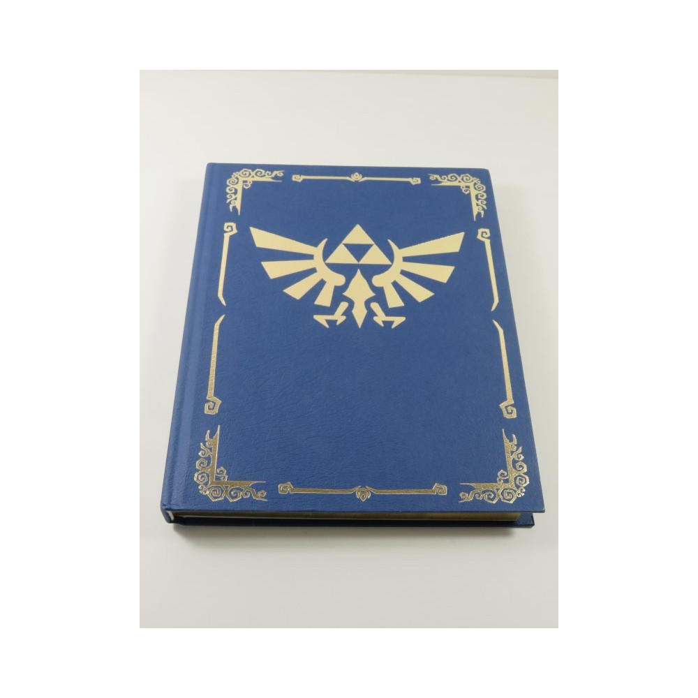 THE LEGEND OF ZELDA - PHANTOM HOURGLASS GUIDE COLLECTOR S EDITION BOOK USA OCCASION (WITH MAP)